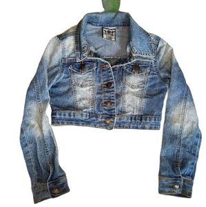 Sweet Jeans Cropped Denim Jacket